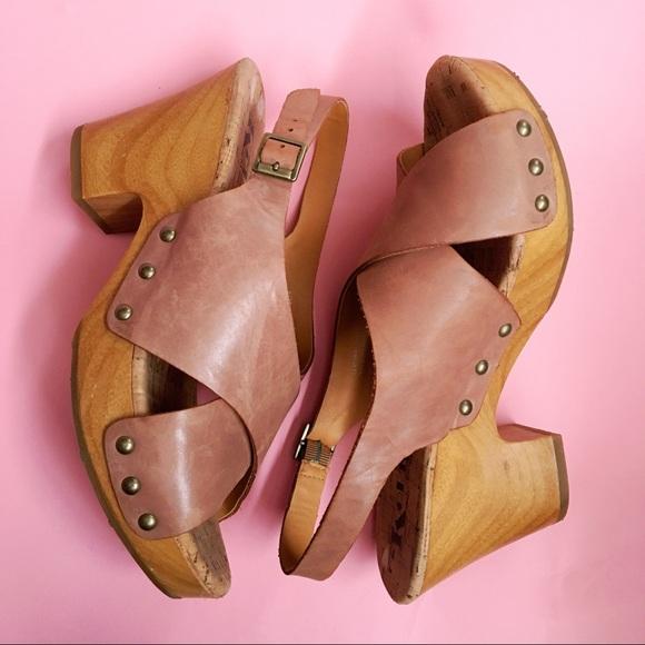 53d2619c96897 korks Shoes - Korks Clog Platform Clog Sandal